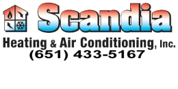 Scandia Heating & Air Conditioning 21260 Olinda Trail N. - P.O. Box 7 Scandia, MN 55073 - Phone: (651) 433-5167